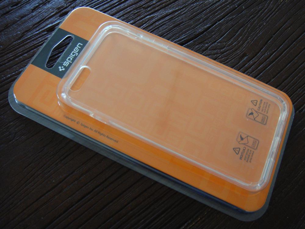 iPhone 6 Plus ケース Spigen [ クリア バンパー] ウルトラ・ハイブリッドを買ってみた