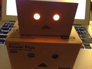 コンパでモテたいなら買っとけ!外箱も素敵で捨てられない「cheero Power Plus DANBOAD version mini 6000mAh 」が届いたよ