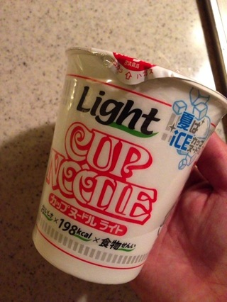 ICEカップヌードルを美味しくいただく方法